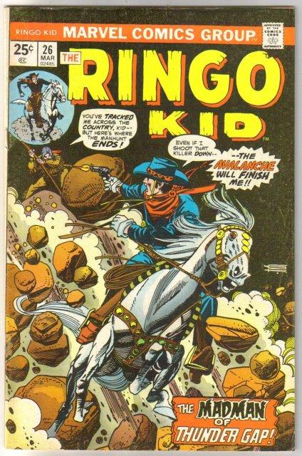 Ringo Kid #26  comic book very fine 8.0