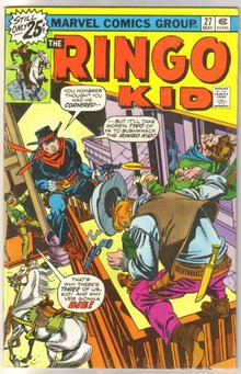 Ringo Kid #27  comic book very fine 8.0
