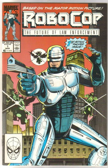 Robocop The Future of Law Enforcement #1 comic book near mint 9.4