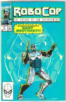 Robocop The Future of Law Enforcement #4 comic book mint 9.8