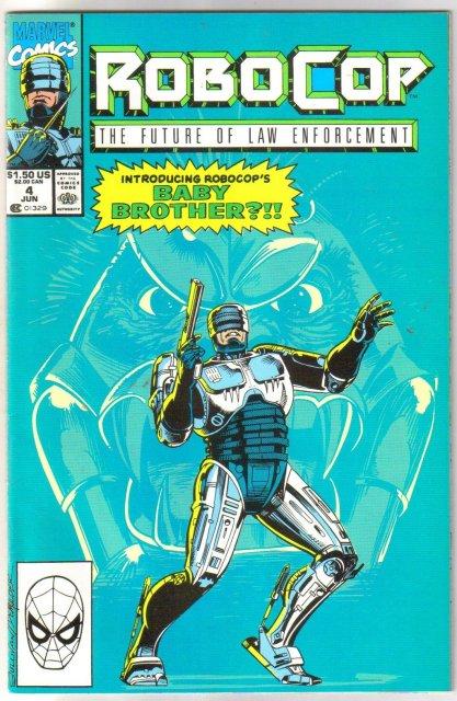 Robocop The Future of Law Enforcement #4 comic book mint 9.8