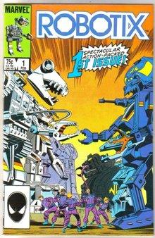 Robotix #1 comic book mint 9.8