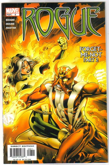 Rogue #8 comic book mint 9.8