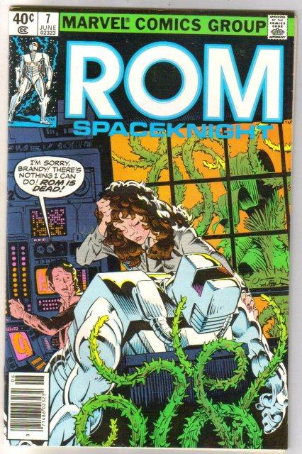 Rom Spaceknight #7 comic book near mint 9.4