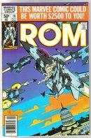 Rom Spaceknight #10 comic book near mint 9.4