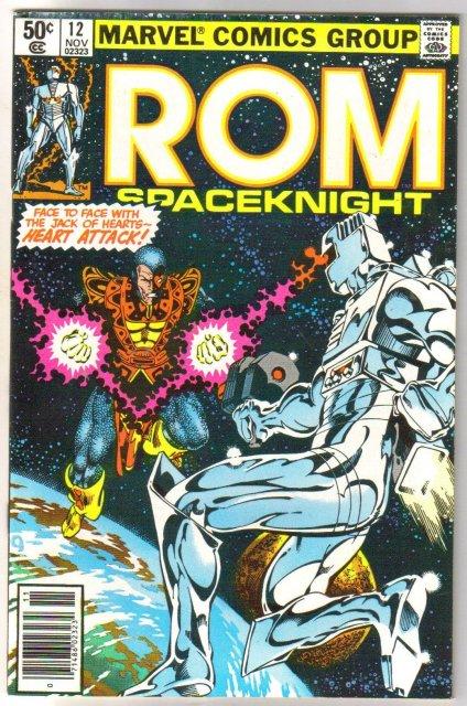 Rom Spaceknight #12 comic book near mint 9.4