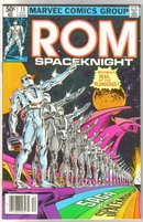 Rom Spaceknight #13 comic book near mint 9.4