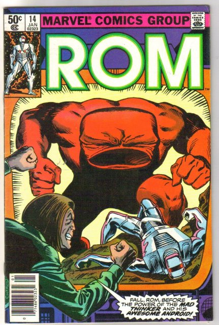 Rom Spaceknight #14 comic book near mint 9.4