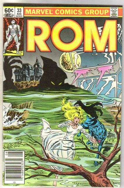 Rom Spaceknight #33 comic book near mint 9.4