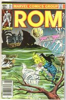 Rom Spaceknight #33 comic book near mint 9.4