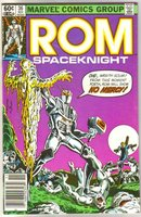 Rom Spaceknight #36 comic book near mint 9.4