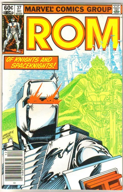 Rom Spaceknight #37 comic book near mint 9.4