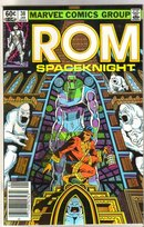 Rom Spaceknight #38 comic book near mint 9.4