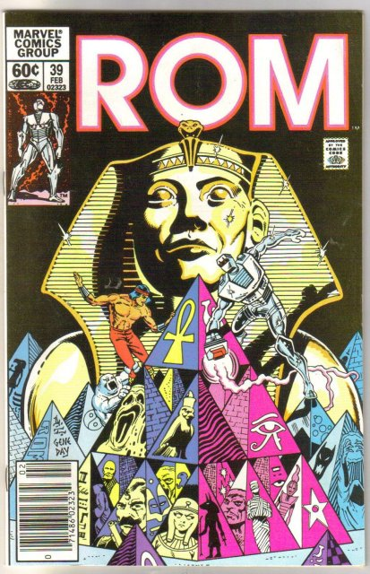 Rom Spaceknight #39 comic book near mint 9.4