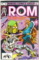 Rom Spaceknight #41 comic book near mint 9.4