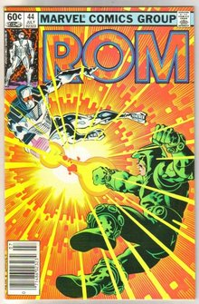 Rom Spaceknight #44 comic book near mint 9.4