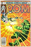 Rom Spaceknight #44 comic book near mint 9.4