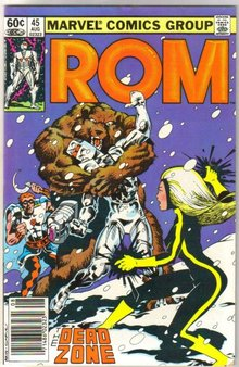 Rom Spaceknight #45 comic book near mint 9.4