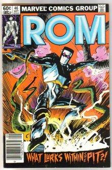 Rom Spaceknight #46 comic book near mint 9.4