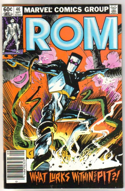 Rom Spaceknight #46 comic book near mint 9.4
