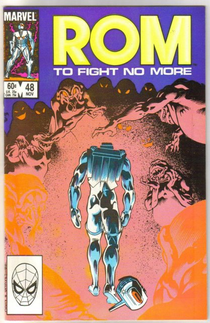 Rom Spaceknight #48 comic book near mint 9.4