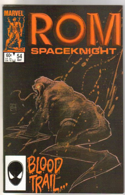 Rom Spaceknight #54 comic book near mint 9.4