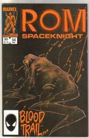 Rom Spaceknight #54 comic book near mint 9.4