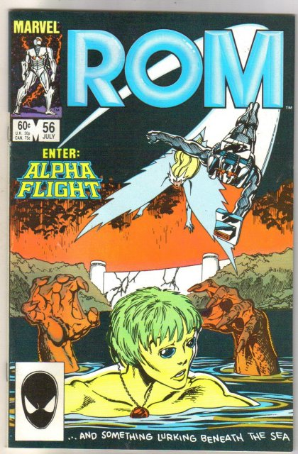 Rom Spaceknight #56 comic book near mint 9.4