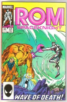 Rom Spaceknight #57 comic book near mint 9.4