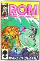 Rom Spaceknight #57 comic book near mint 9.4