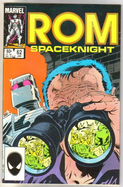 Rom Spaceknight #62 comic book near mint 9.4