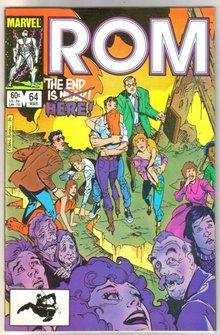 Rom Spaceknight #64 comic book near mint 9.4