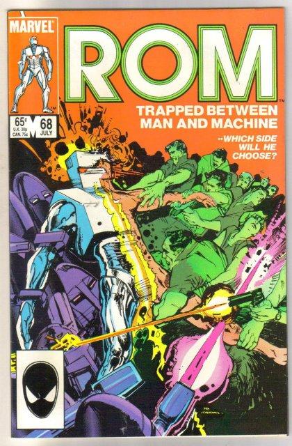 Rom Spaceknight #68 comic book near mint 9.4