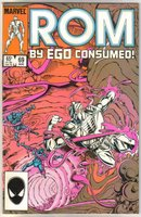Rom Spaceknight #69 comic book near mint 9.4
