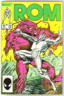 Rom Spaceknight #70 comic book near mint 9.4