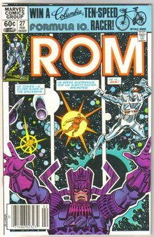 Rom Spaceknight #27 comic book mint 9.8