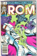 Rom Spaceknight #42 comic book mint 9.8