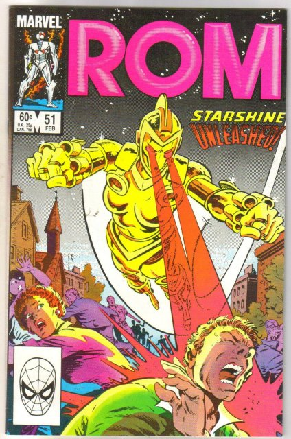 Rom Spaceknight #51 comic book mint 9.8
