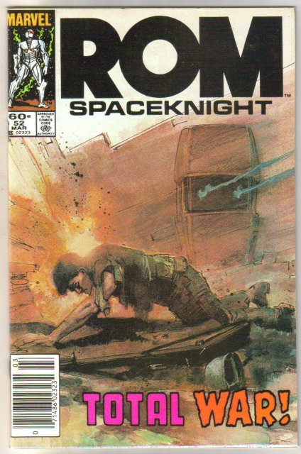 Rom Spaceknight #52 comic book mint 9.8