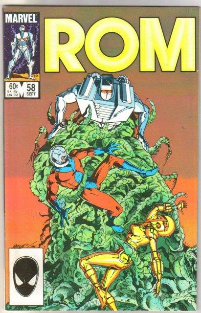 Rom Spaceknight #58 comic book mint 9.8