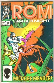 Rom Spaceknight #59 comic book mint 9.8