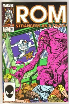 Rom Spaceknight #60 comic book mint 9.8
