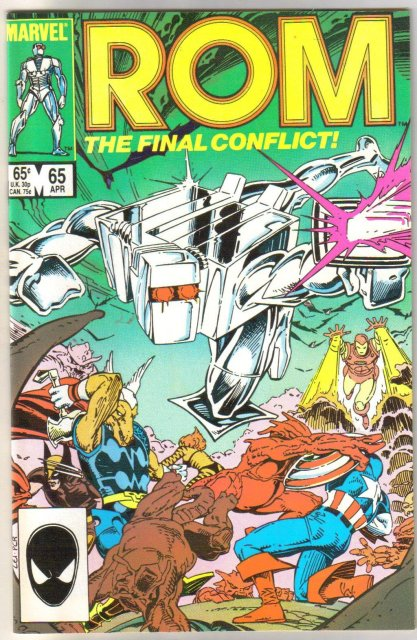 Rom Spaceknight #65 comic book mint 9.8