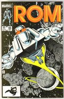 Rom Spaceknight #66 comic book mint 9.8