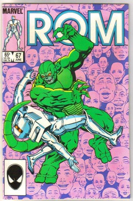 Rom Spaceknight #67 comic book mint 9.8