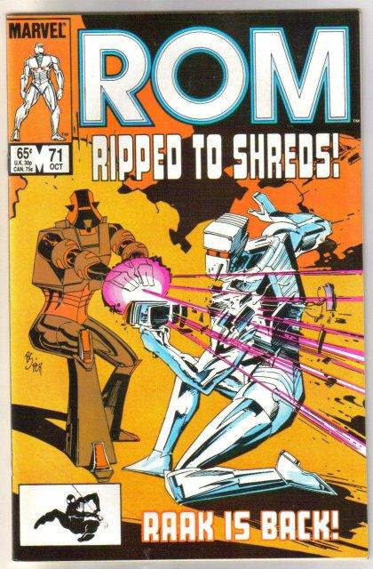 Rom Spaceknight #71 comic book mint 9.8