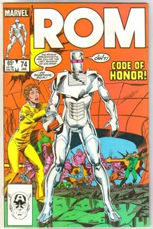 Rom Spaceknight #74 comic book mint 9.8