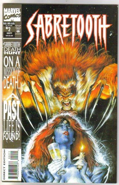 Sabretooth #2 comic book mint 9.8