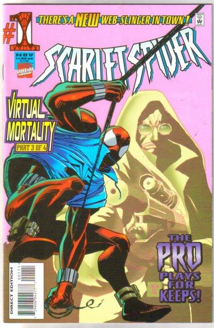 Scarlet Spider #1 comic book near mint 9.4