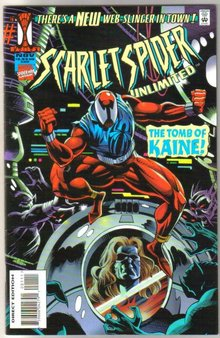 Scarlet Spider Unlimited #1 comic book near mint 9.4
